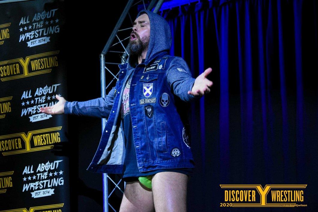BT Gunn Discovery Wrestling