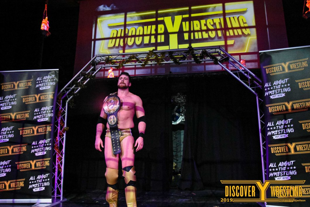 Joe Hendry Discovery Wrestling