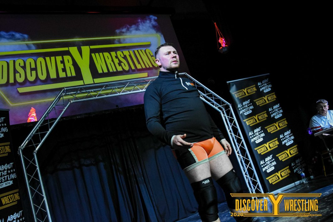 Steven Myles Discovery Wrestling