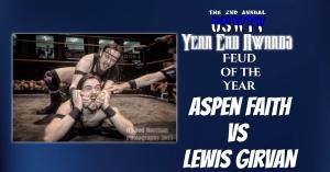 Feud of the Year: Aspen Faith vs Lewis Girvan