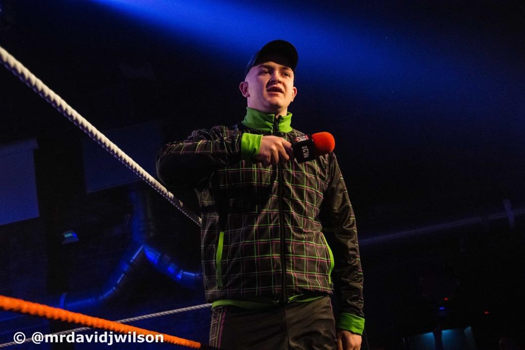 Ravie Davie Insane Championship Wrestling
