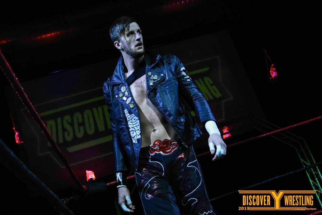 Chris Brookes Discovery Wrestling