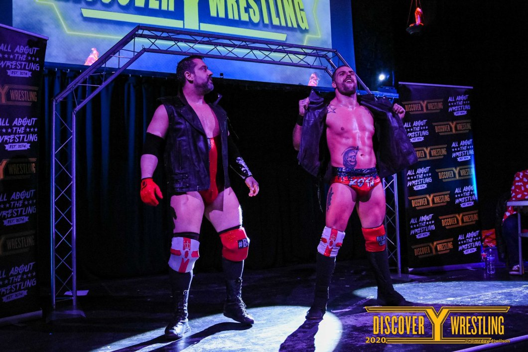 Kings Of The North Bonesaw Damien Corvin Discovery Wrestling