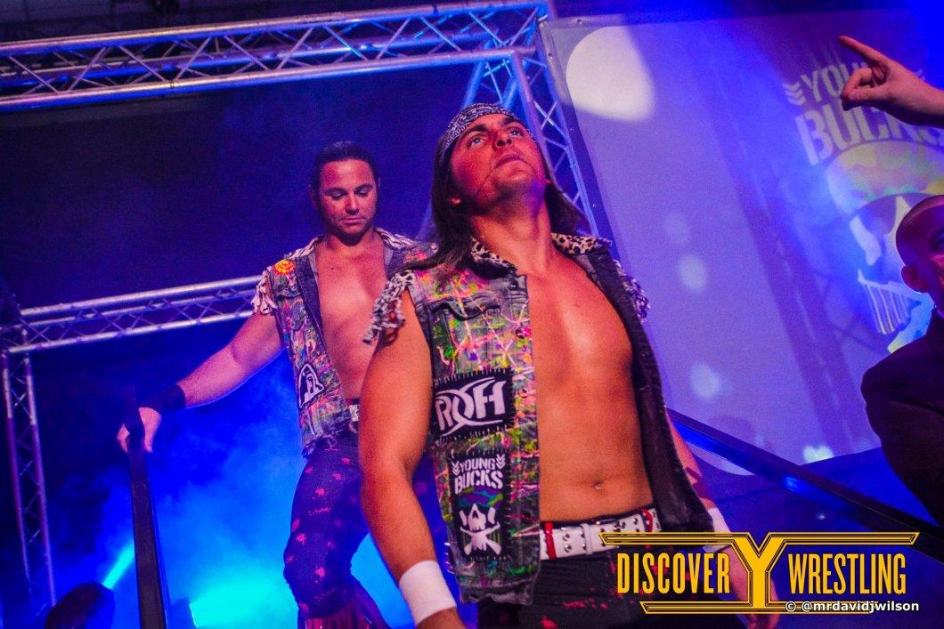 Young Bucks Matt Jackson Nick Jackson Discovery Wrestling