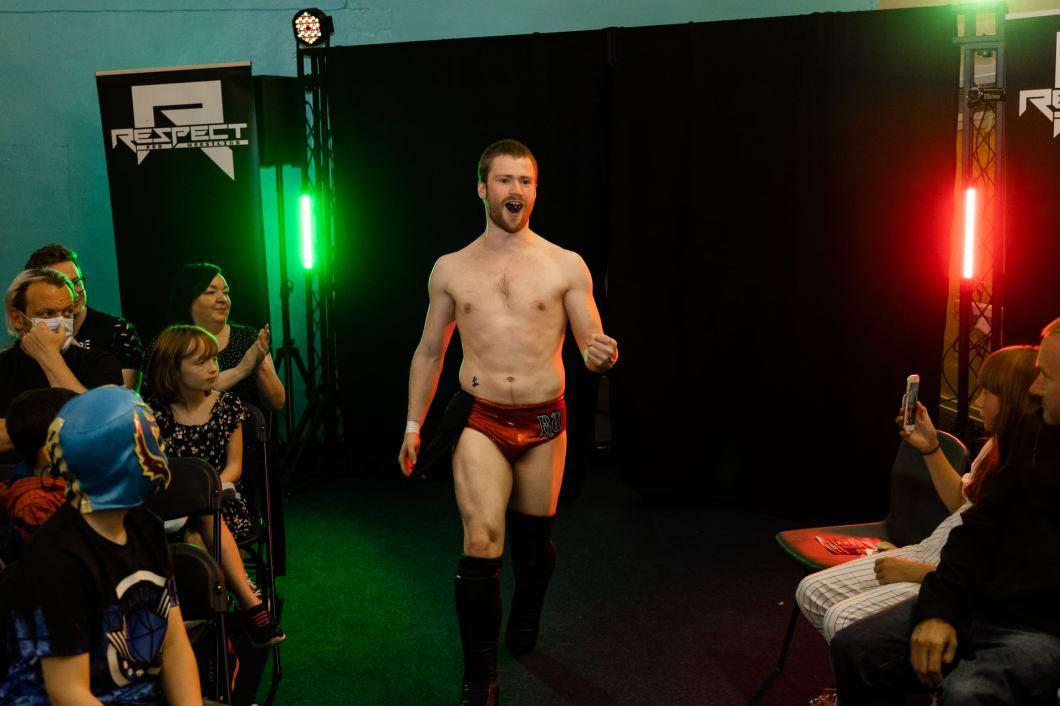 Robbie Wishart Respect Pro Wrestling