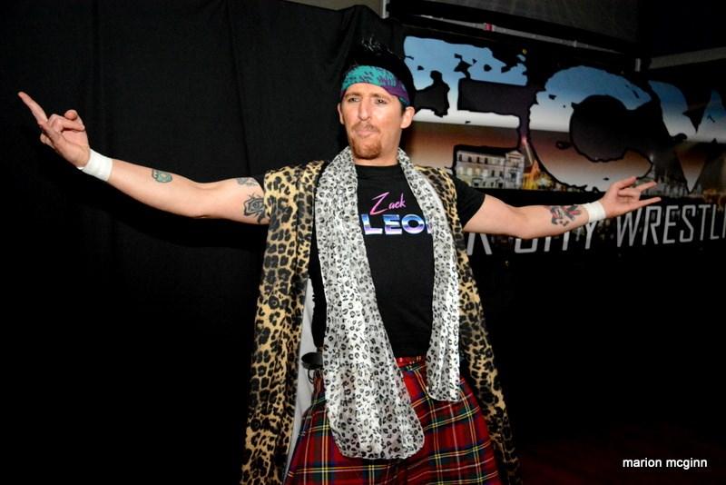 Zack Leon Fair City Wrestling