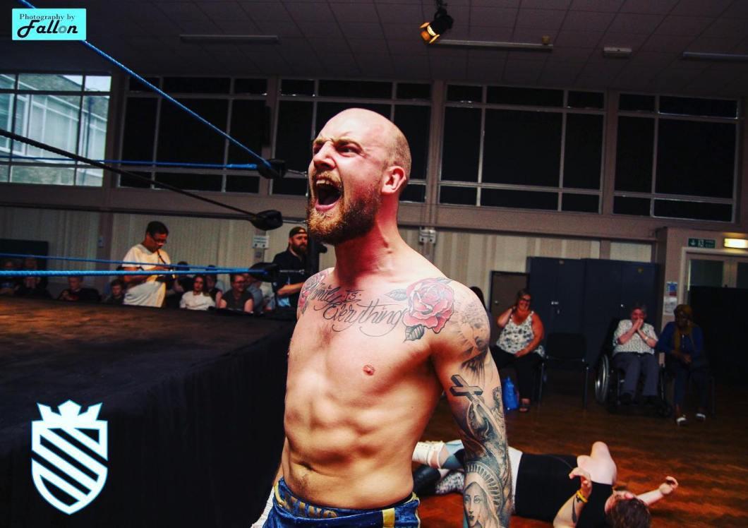 Dean Ford Shield Pro Wrestling