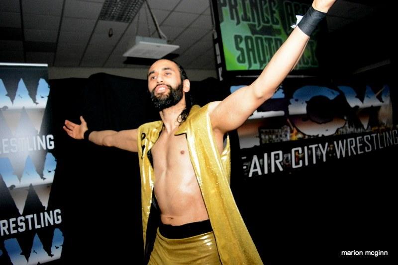 Saqib Ali Fair City Wrestling