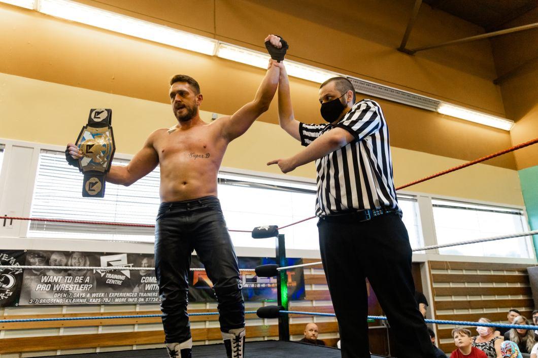Frank X. Cross Respect Pro Wrestling
