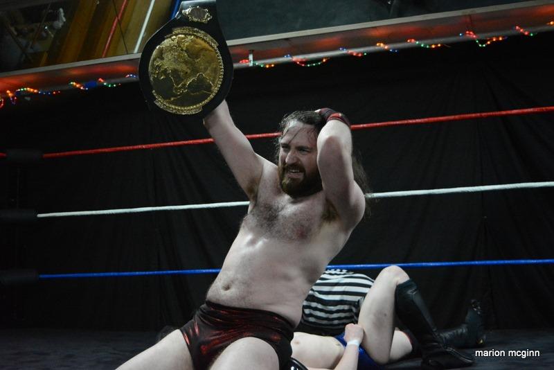 Alexander Darwin MacAllan Respect Pro Wrestling