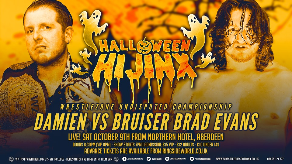Damien vs. Bruiser Brad Evans
