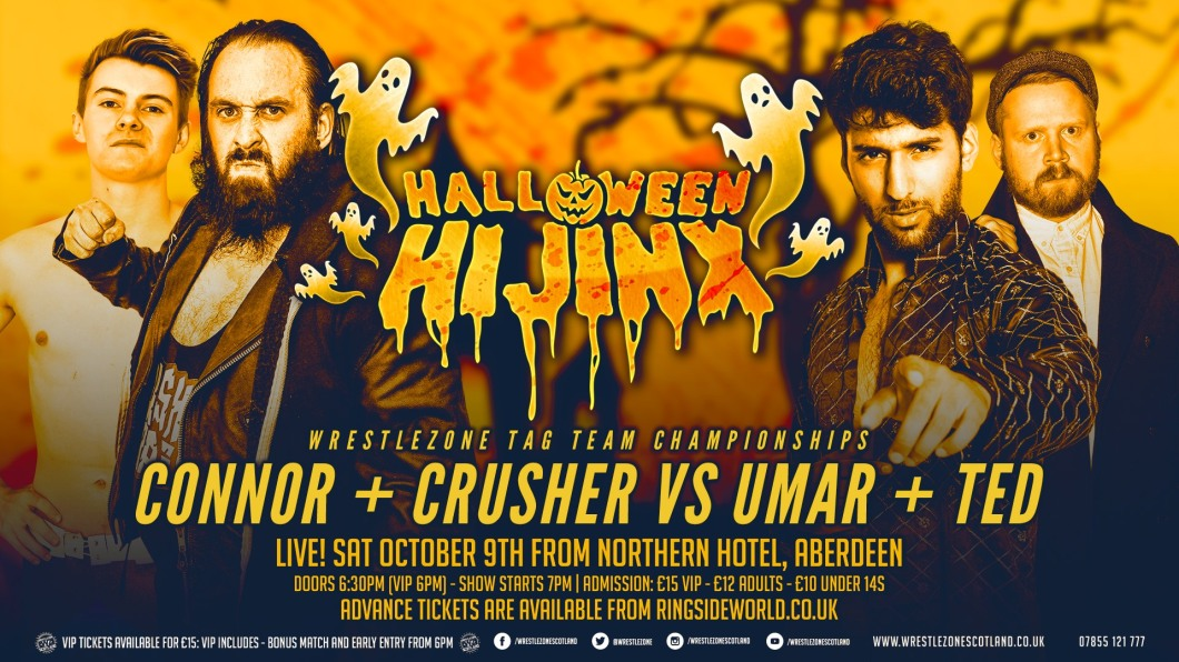 Crusher Craib Connor Molloy Umar Mohammed Ted O'Keefe