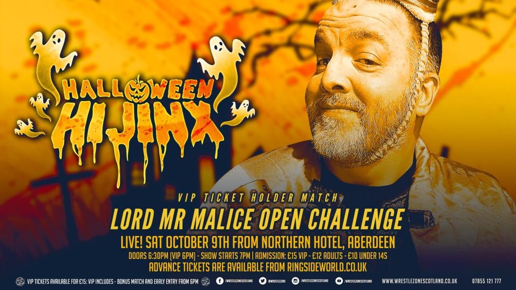 Lord Mr Malice